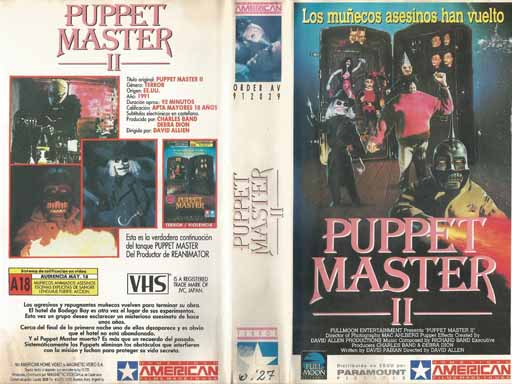 PUPPET MASTER 2